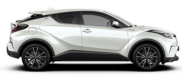 TOYOTA CHR automatic - gruppo F